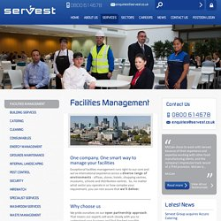 Facilities Management - A Leading Facilities Company