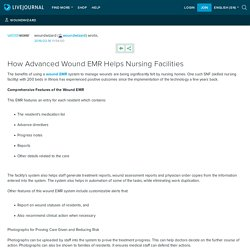 How Advanced Wound EMR Helps Nursing Facilities
