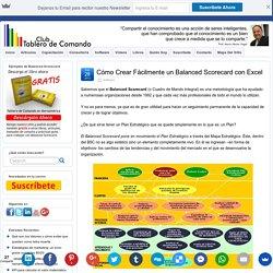 Cómo Crear Fácilmente un Balanced Scorecard con Excel