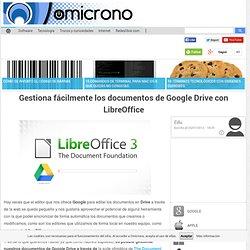 gestiona google drive con ibreoffice/