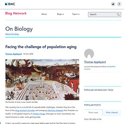 Facing the challenge of population aging