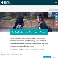 Facing History and Ourselves en France
