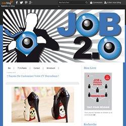 7 façons de customiser votre CV Doyoubuzz