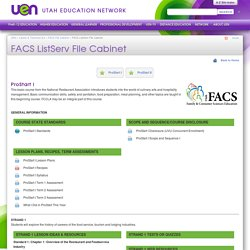 FACS ListServ File Cabinet