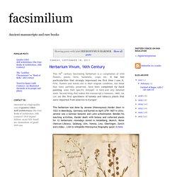 facsimilium: HIERONYMUS HARDER