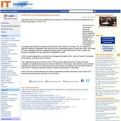 e-FACT Pro ou la dématérialisation pas chère