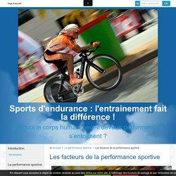 Les facteurs de la performance sportive