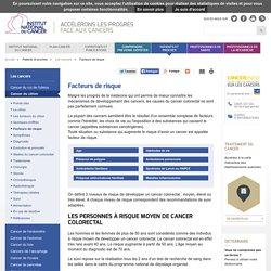Facteurs de risque - Cancer du côlon