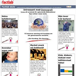 The factlab - Where facts become your knowledge