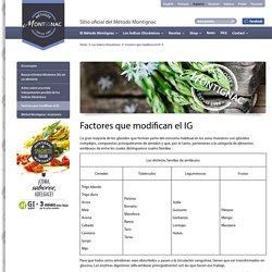 Sitio oficial del Método Montignac