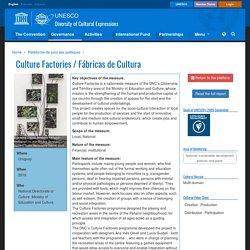 Culture Factories / Fábricas de Cultura