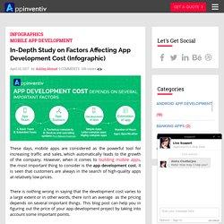 In-Depth Study on Factors Affecting App Development Cost