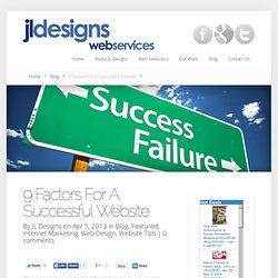 9 Factors For A Successful Website