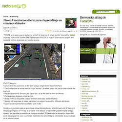 Blog Archive » Pivote. Un entorno abierto para el aprendizaje en