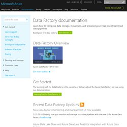 Data Factory Documentation