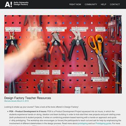 Design Factory Teacher Resources