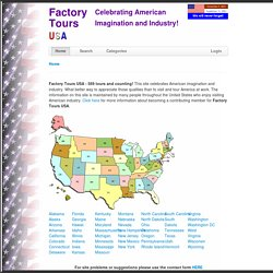 Factory Tours USA