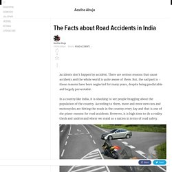 The Facts about Road Accidents in India