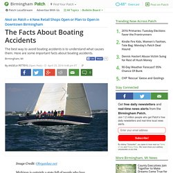 The Facts About Boating Accidents