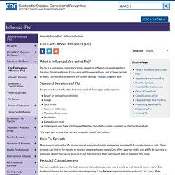 Seasonal Influenza (Flu) - Key Facts About Influenza (Flu) & Flu Vaccine