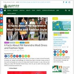 Narendra modi dress style