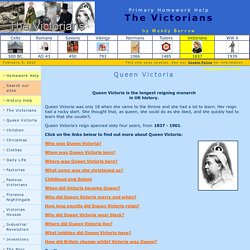 Facts about Queen Victoria for kids