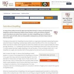 Facts About Shoplifting / Fakty o Kradzieży sklepowej (