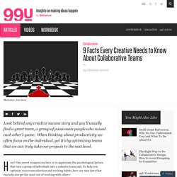 9 Facts Every Creative Needs to Know About Collaborative Teams
