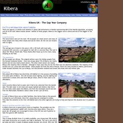 Facts and Information about Kibera - Kibera