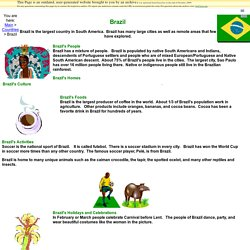 Facts for Kids- Brazil