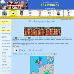 Facts about Romans for Kids - Roman Britain Homework help