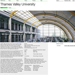 Facts - Thames Valley University