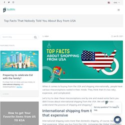 Top Facts That Nobody Told You About Buy from USA