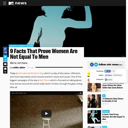 9 Facts That Prove Women Are Not Equal To Men