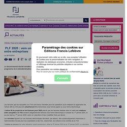 PLF 2020 : vers une facturation électronique obligatoire entre entreprises