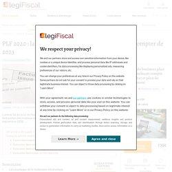 PLF 2020 : la facturation électronique obligatoire à compter de 2023 LégiFiscal
