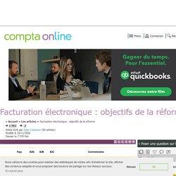 Facturation électronique : objectifs de la réforme