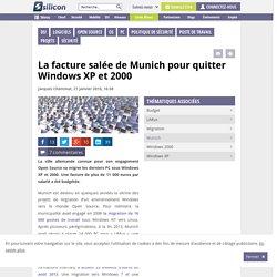 La facture salée de Munich pour quitter Windows