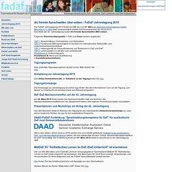 Fachverband für Deutsch als Fremdsprache