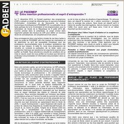 Le PIIODMEP : parcours individuel d'information, d'orientation et de découverte du monde économique et professionnel
