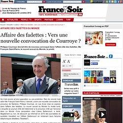 Affaire des fadettes : Vers une nouvelle convocation de Courroye ?