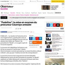 """""""Fadettes"""": la mise en examen du procureur Courroye annulée"""
