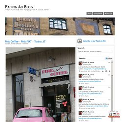 Fading Ad Blog