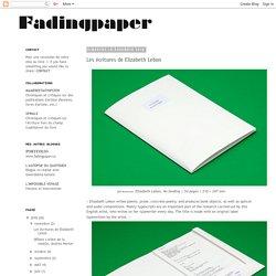 fadingpaper: 2018