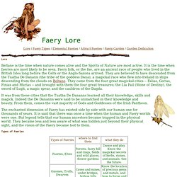 Faery Lore