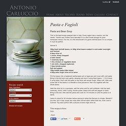Pasta e Fagioli by Antonio Carluccio