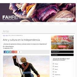Arte y cultura en la Independencia