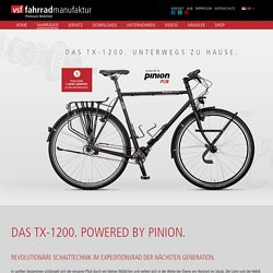 vsf fahrradmanufaktur - Das TX-1200 Expedition Fahrrad