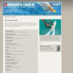 Fahrtechnik - www.windsurfen-lernen.de