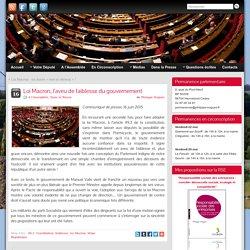 Loi Macron, l'aveu de faiblesse du gouvernement » Philippe Noguès, député du Morbihan